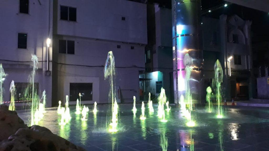 dry fountain, Paket Dry Fountain ( air mancur kering), PEMBUAT AIR MANCUR MENARI